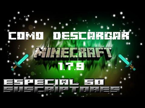 Como Descargar Minecraft 1.7.9-[2015]-HD