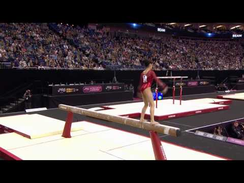 Victoria Nguyen - Balance Beam - 2017 London World Cup - Women's Competition