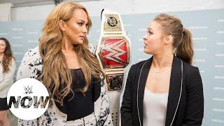 "Superstars react to Nia Jax vs. Ronda Rousey ""Money"" match: WWE Now"