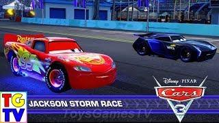 Cars 3: Driven to Win - Lightning McQueen vs Jackson Storm