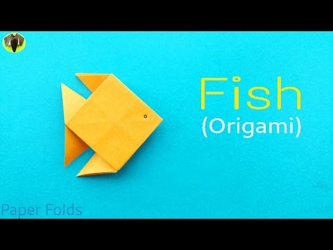 Fish 🐡 - DIY Origami  Tutorial by Paper Folds ❤️ 🙏