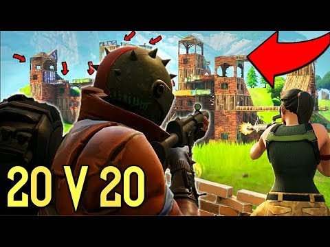 *NEW* 20 V 20 GAMEMODE TIPS AND TRICKS TO WIN FORNITE BATTLE ROYALE!