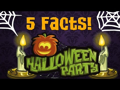 Club Penguin: 5 Facts about the Halloween Party (I bet you don't know one of them!)
