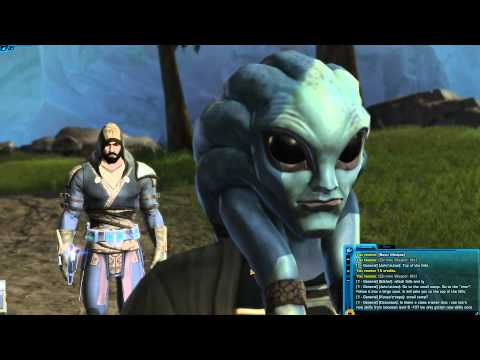 Star Wars:  The Old Republic - Getting your first Lightsaber!