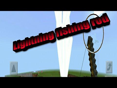 How to make a lightning rod! Minecraft Pocket Edition