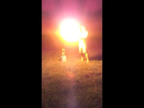 bottle rockets and spray paint