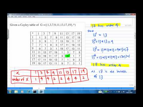 Order of elements and quotient group EXAMPLE 3