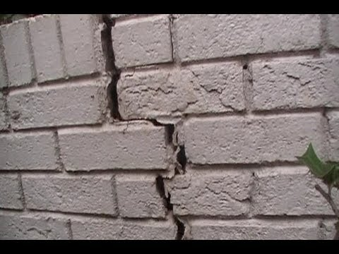 Exterior Waterproofing - What Causes Stress Cracks