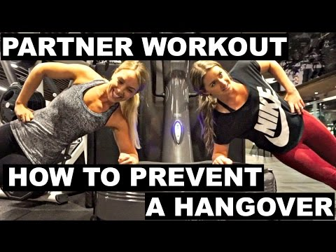 Partner Workout | How To Prevent A Hangover | VLOGMAS DAY 21