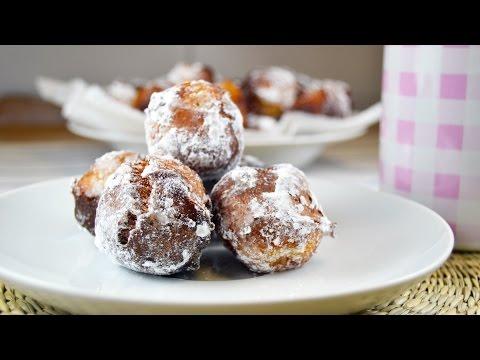 Wind Fritters (Buñuelos de Viento) - Easy Fried Dough Dessert Recipe