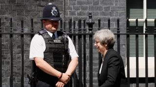 London terror attacks reduce confidence in British PM
