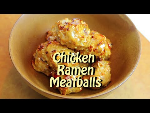Chicken Ramen Meatballs Cooking Vlog 56