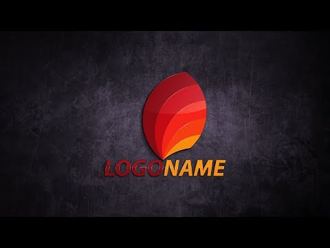 Logo Design Tutorial   Illustrator CC 2017 ( leaf )