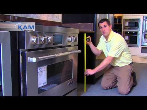 Kam Appliances: Measuring Tips