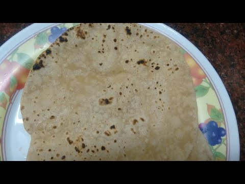 How to make Oil less chapati -| easy steps to make soft chapati|