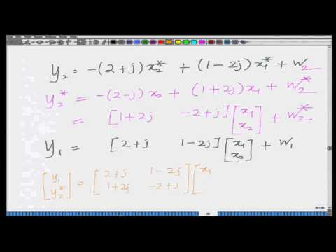 Lecture 40: BER of Alamouti Coded System