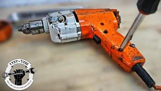 Broken Old drill Restoration - Black and Decker