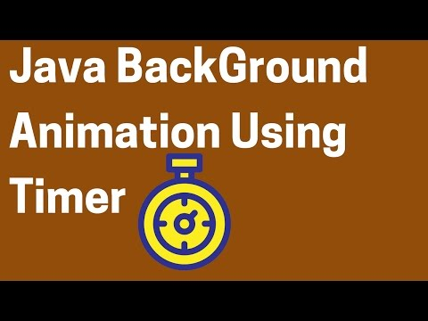 Java JFrame BackGround Color Animation Using Timer In Eclipse [ with source code ]