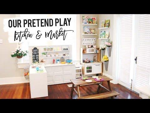 Pretend Play DIY Kitchen & Market