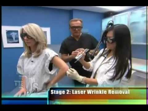 One Way to Look Younger!  Dr. Sandra Lee gets rid of wrinkled elbows on The Doctors.