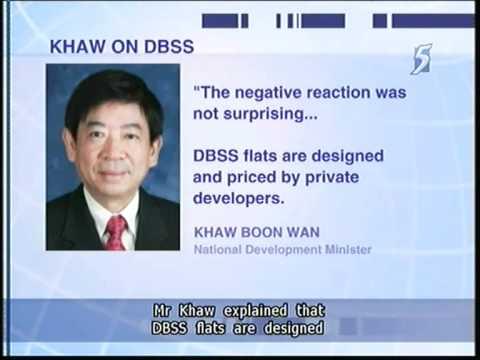 Khaw: DBSS is Not HDB - 18Jun2011
