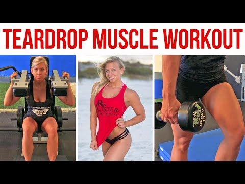 Teardrop Muscle Workout - 4 Exercises for Stronger Quads