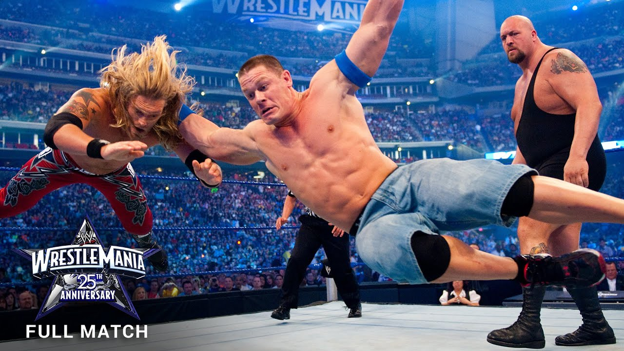 FULL MATCH - Edge vs. John Cena vs. Big Show – World Title Triple Threat Match: WrestleMania XXV