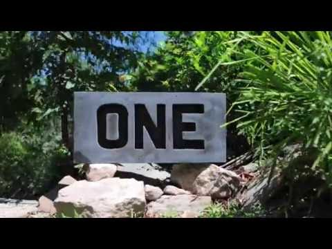 How To Make A Concrete House Number