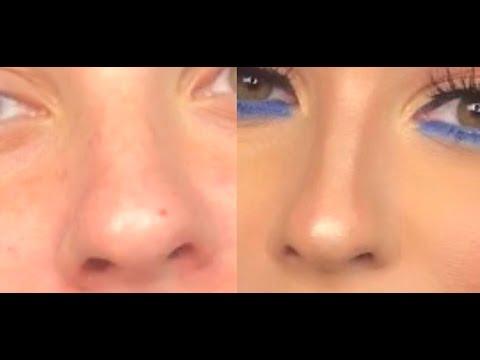 How I Contour My Round Nose