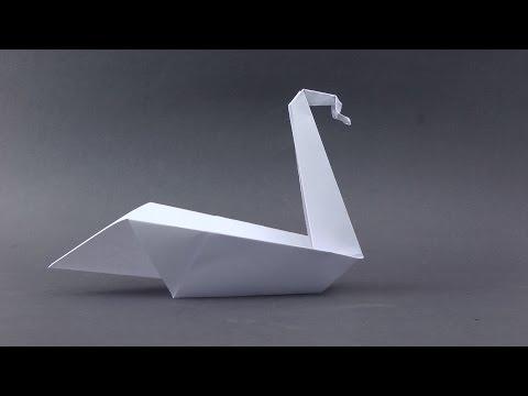 Origami easy Swan