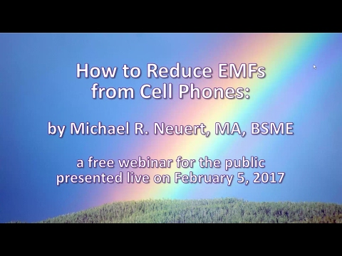 How to Reduce the EMFs from Cell Phones