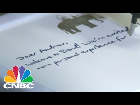 Why Are Bond Robots Handwriting Letters? | CNBC