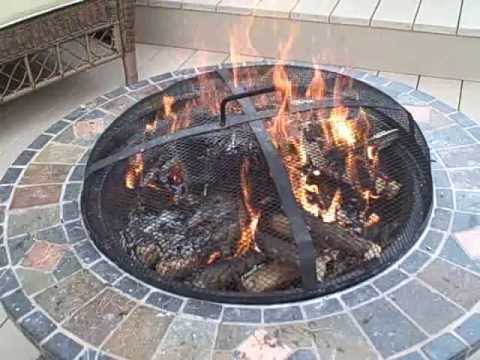 How to start a Upside Down Fire in an Outdoor Fire Pit