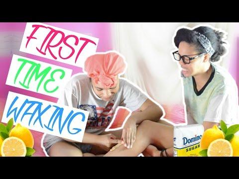 DIY Sugar Wax | First Time Waxing