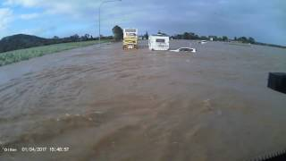 Cyclone Debbie Flooding at Chinderah NSW