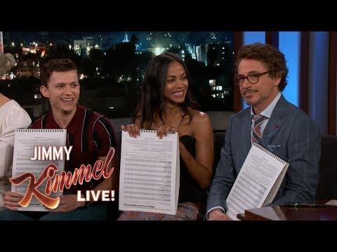 Avengers: Infinity War Cast on Guardians & Robert Downey Jr.