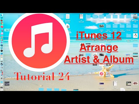 iTunes 12 Yosemite Setting the Artist and Album | Tech With Ro - Ep. 24