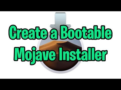 Create a Bootable Mojave USB Installer Flash Drive in Mac OS X 10.14