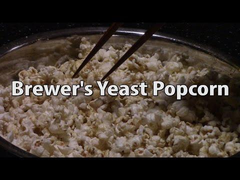 Brewer's Yeast Popcorn Recipe | VEDA 2015