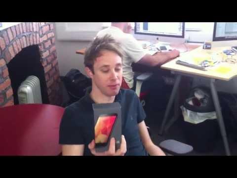 Unboxing the Google Nexus 4