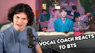 Vocal Coach Reacts to BTS - Life Goes On
