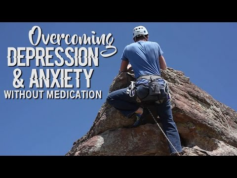 Overcoming Depression & Anxiety Without Medication | Natural Alternatives