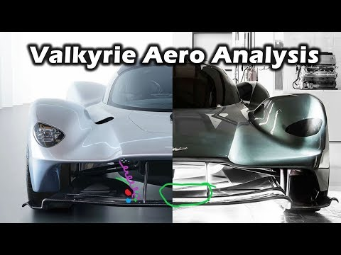 Aston Martin Valkyrie - Aero Update Analysis and Comparison