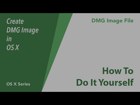 How To Create DMG File in OS X