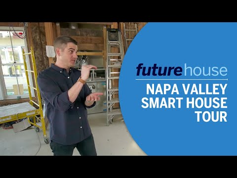 Future House | Touring a Napa Valley Smart House