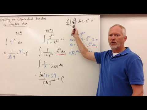 Integrals of bases other than e