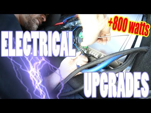 I fixed my voltage drop problem! - F150 stereo system electrical upgrades - AMPLIFIED #703