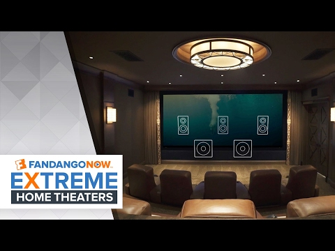 Creating the Perfect Theater! | FandangoNOW Extreme Home Theaters