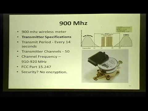 Shmoocon 2011 - Hacking Smartwater Wireless Water Meter Networks - Part2.wmv