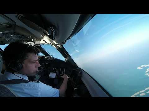 Airline Pilot Cockpit View (7): DUBAI Intl. DXB